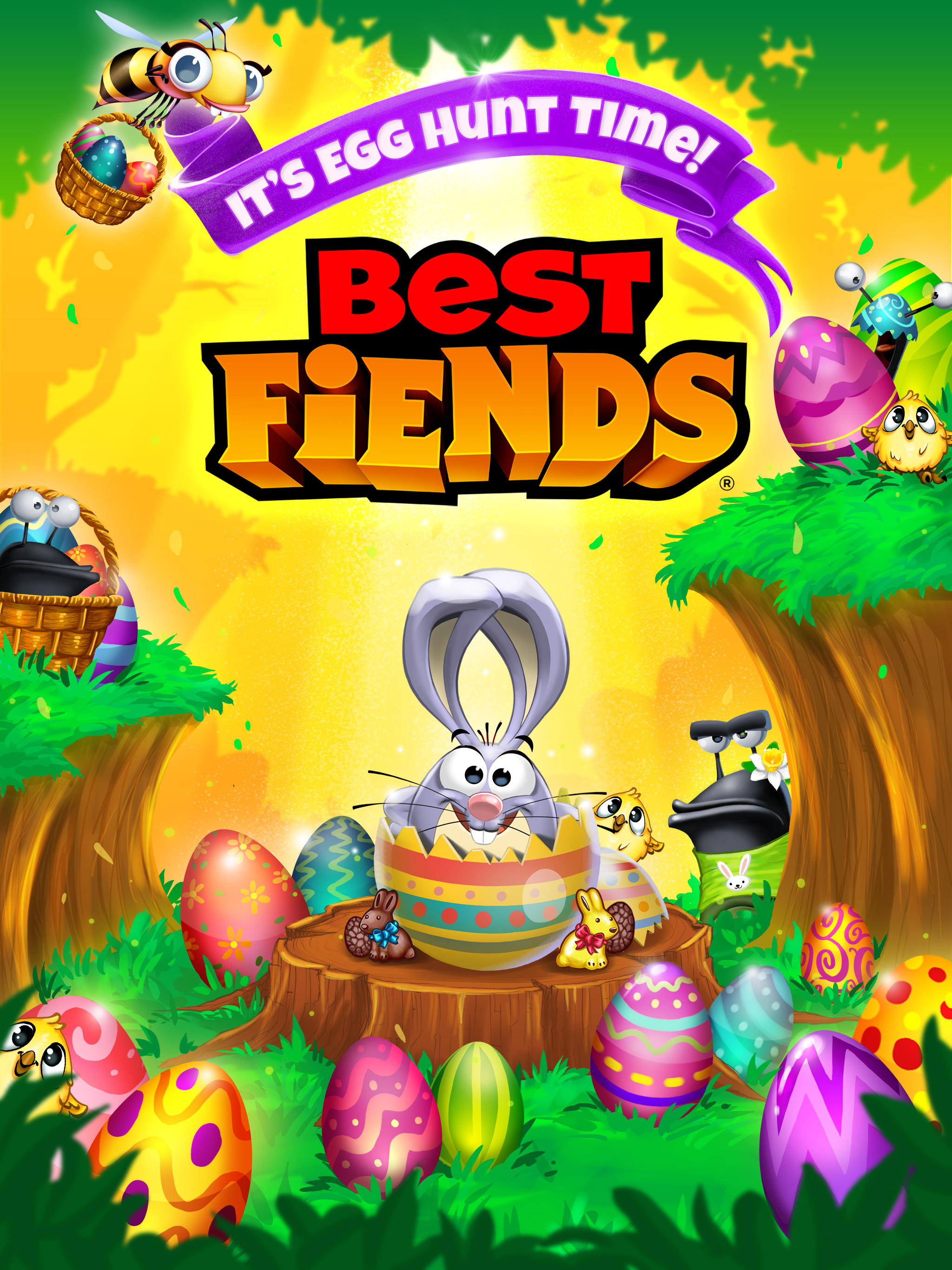 Best Fiends Egg Hunt 2019 It's Time for the Best Fiends Easter Egg Hunt!   Seriously