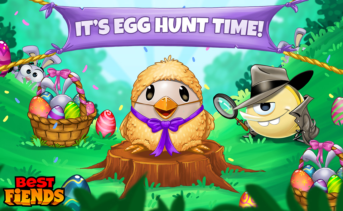 Best Fiends Egg Hunt 2019 Celebrate Easter with the Hoppiest Best Fiends Update Yet!   Seriously